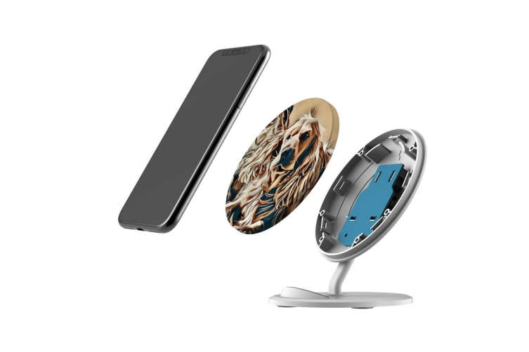 QI Wireless Charger For iPhone 11 Samsung Galaxy S20+ S20 Ultra S10 Best Friends