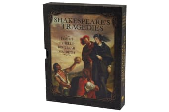 Shakespeare's Tragedies in Slipcase