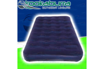 GENUINE KOOKABURRA TWIN INFLATABLE AIR BED MATRESS CAMP CAMPING HIKING OUTDOOR