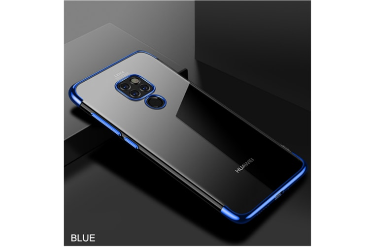 Soft Transparent Tpu Cover Ultra Thin Clear Shell For Huawei Blue Huawei P20Pro/P20Plus