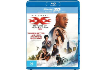 xXx The Return of Xander Cage 3D Edition with 2D Edition Blu-ray Region B