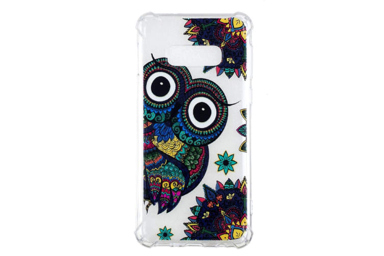 For Samsung Galaxy S10e Case  Owl Pattern Oil Embossed TPU Back Cover