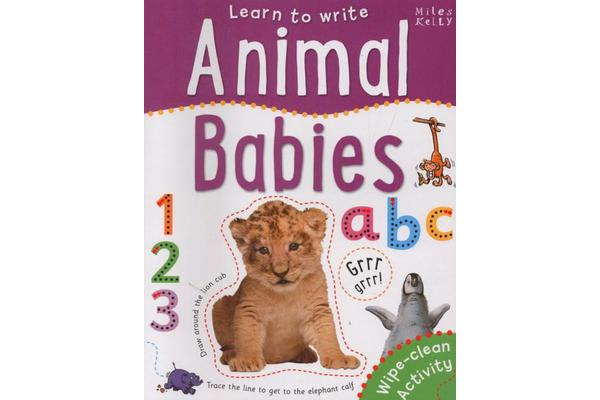 Learn to Write: Animals
