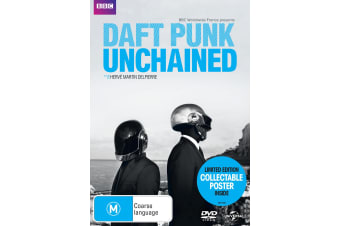 Daft Punk Unchained DVD Region 4