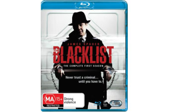 The Blacklist The Complete First Season 1 Blu-ray Region B