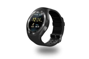 """TODO Bluetooth V3.0 Smart Watch 1.54"""" Lcd Blood Pressure Heart Rate - Black"""