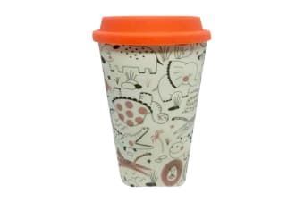 Bamboo Eco Zoo Travel Mug (Multicoloured) (One Size)