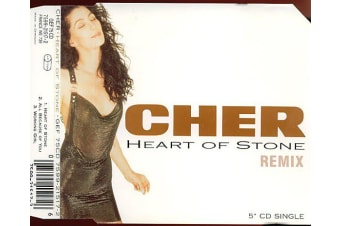 Cher ‎– Heart Of Stone (Remix) BRAND NEW SEALED MUSIC ALBUM CD - AU STOCK