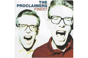 The Proclaimers – Finest BRAND NEW SEALED MUSIC ALBUM CD - AU STOCK