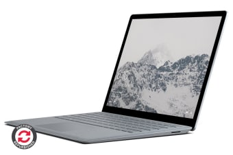 Microsoft Surface Laptop (128GB, i5, 4GB RAM, Platinum) - Certified Refurbished