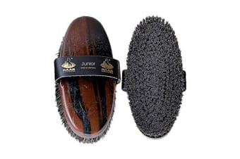 Haas Junior Body Brush (Brown) (One Size)