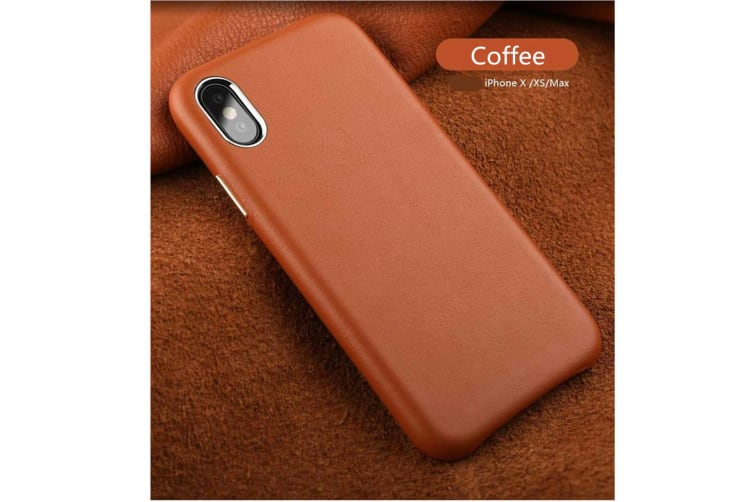 Full Leather Case Compatible With Iphone Real Leather,Covered Buttons Coffee Iphone6Plus/6Splus