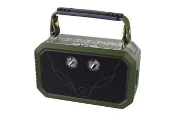 DOSS Traveller Portable Bluetooth Speaker with Waterproof IPX6, Bluetooth 4.0 and 20W Stereo Sound - Green (WB60GRN)