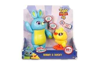 Toy Story 4 True Talkers Bunny and Ducky Figures