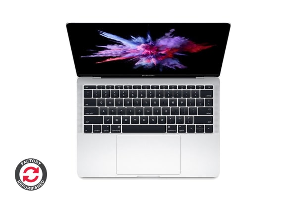 "Apple 13"" MacBook Pro (2.3GHz i5, 128GB, Silver) - MPXR2 - Apple Certified Refurbished"