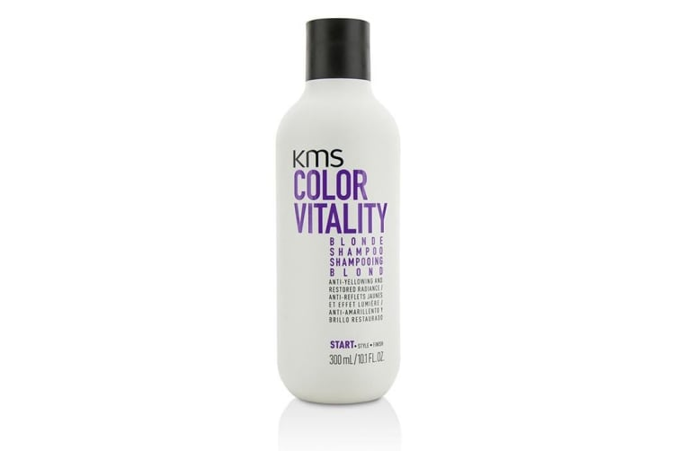 KMS California Color Vitality Blonde Shampoo (Anti-Yellowing and Restored Radiance) 300ml