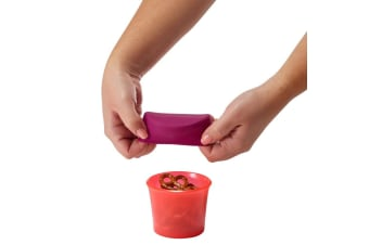 BOON SNUG Snack 4 Pack in Pink