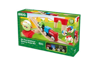 Brio Early Learning My First Railway Battery Operated Train Set