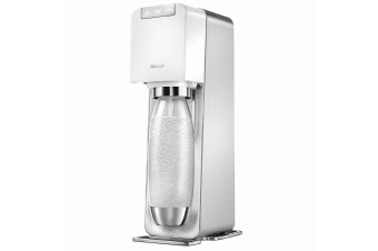 Soda Stream Power White Electric Sparkling Water Fizzy Drink Maker SodaStream