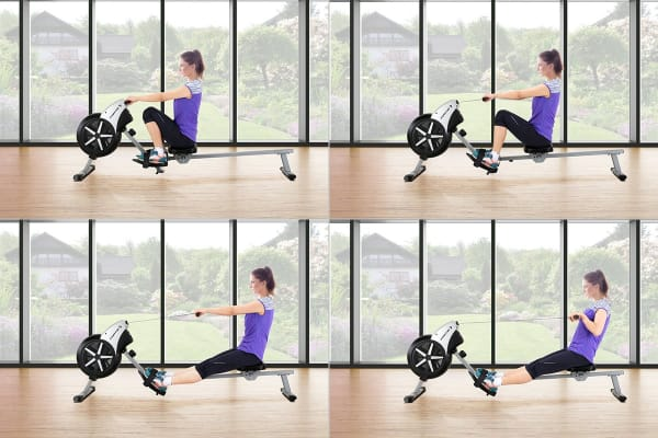 Fortis Air Resistance Rowing Machine