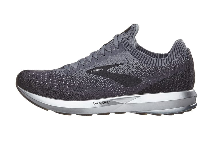 Brooks Men's Levitate 2 (Black/Grey/Ebony, Size 9.5)