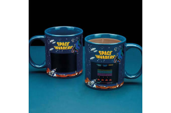 Space Invaders Heat Change Mug | Expose To Heat To Reveal The Screen!