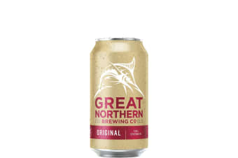 Great Northern Brewing Co Original Lager Cans - BCF Promo Pack 375mL Case of 30