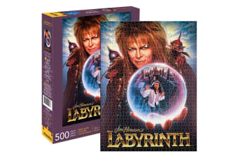 Aquarius Jim Henson's Labyrinth 500pc Jigsaw Puzzle Kids/Teen/Adult 14y+ Toys