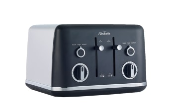 Sunbeam Gallarie Collection 4 Slice Toaster - Black Midnight (TA2640K)