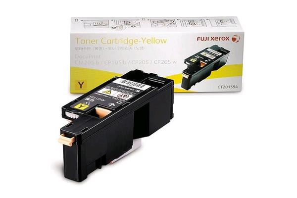 FUJI XEROX Toner CT201594 Yellow 1400 pages