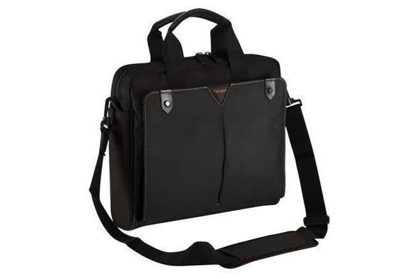 "Targus 14"" Topload Notebook Bag Classic+ Black Poly"