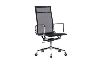 Ergolux Executive Eames Replica High Back Mesh Office Chair (Black)