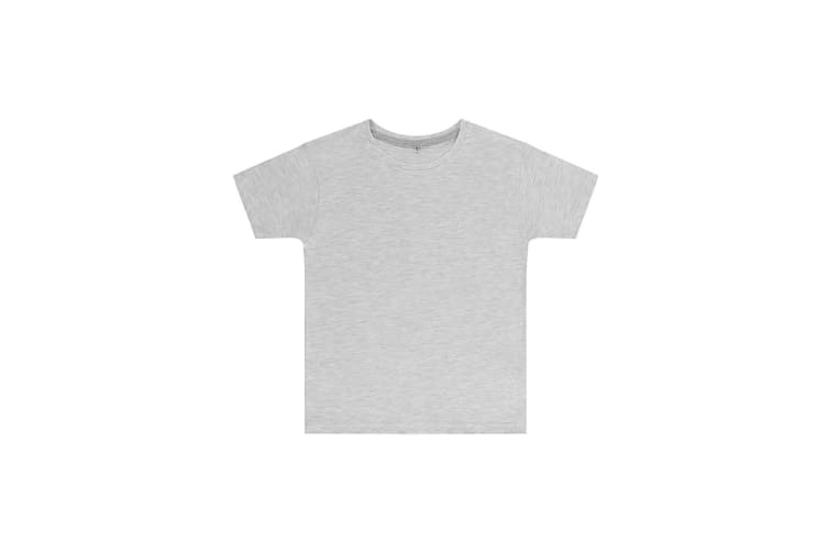 SG Childrens Kids Perfect Print Tee (Ash Grey) (9-10 Years)