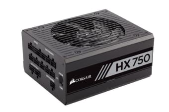 Corsair 750W HX 80+ Platinum Fully Modular w/Corsair Link 135mm FAN ATX PSU 10 Years Warranty