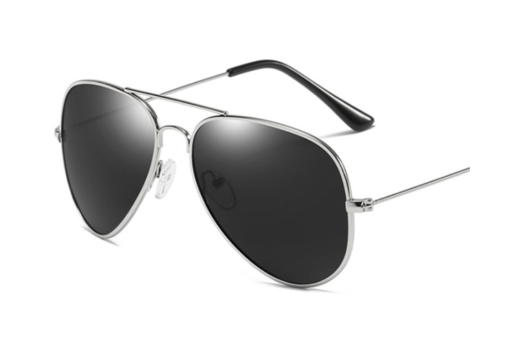 Premium Full Mirrored Men'S Polarized Aviator Sunglasses