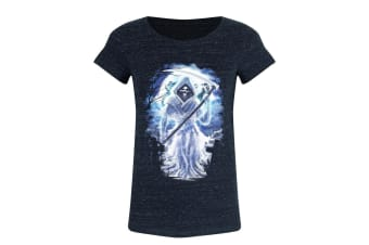 Requiem Collective Ladies/Womens Grim Immortality T-Shirt (Navy)