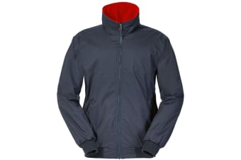 Musto Mens Snug Blouson II Showerproof Jacket (True Navy/True Red)