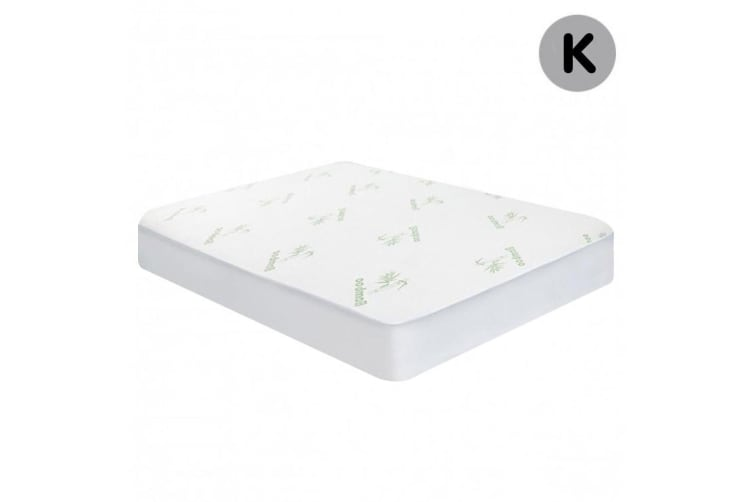 Laura Hill Bamboo Mattress Protector- King