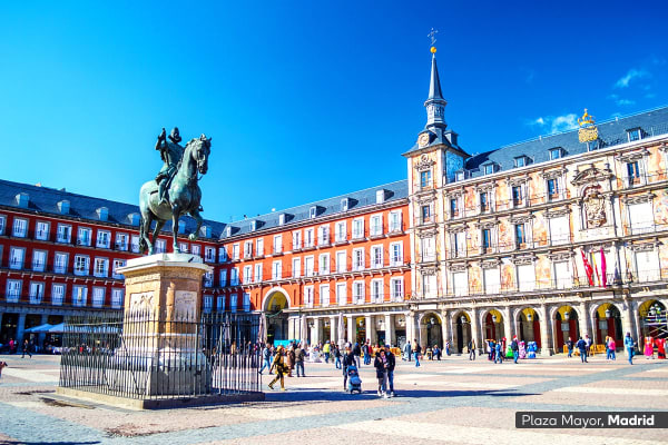 EUROPE: 15 Day Best Of Spain & Portugal Tour Including Flights For Two