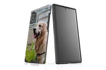 For Samsung Galaxy Note 10 Plus Case  Protective Back Cover  Goldern Retriever