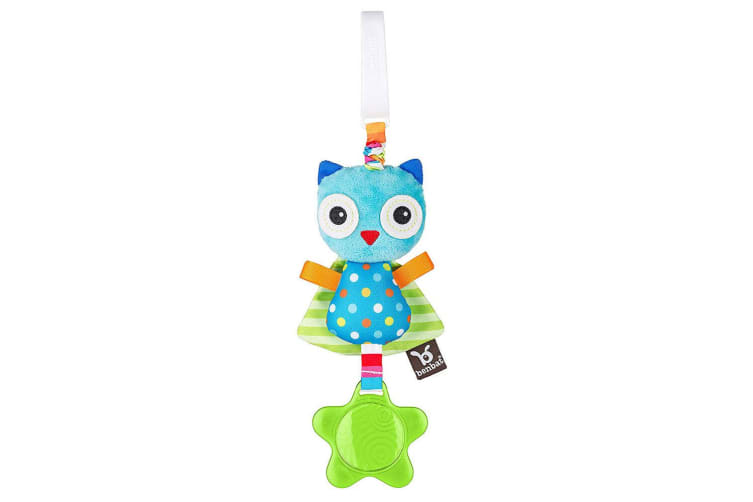 Benbat Dazzle Owl Jitter Baby/Infant 0m+ Hanging Educational Toys for Stroller