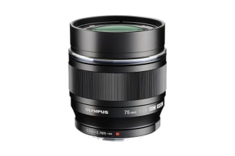 Olympus M.Zuiko Digital 75mm f1.8 Lens (Black)