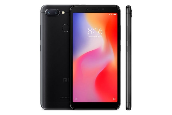 Xiaomi Redmi 6 (64GB, Black)