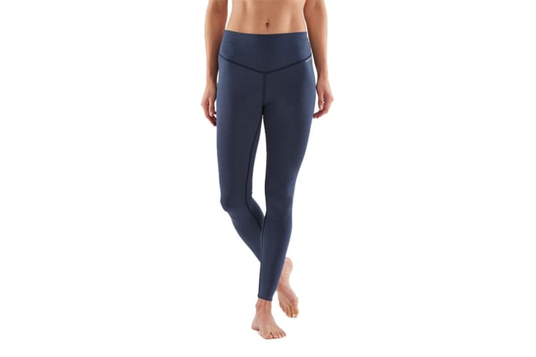 SKINS DNAmic Sleep Recovery Women's Long Tights (Navy Blue Marle, Size XL)