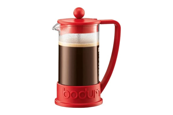 Bodum Brazil French Press Coffee Maker - Red,  3 Cup, 0.35 L, 12 oz (10948-294)