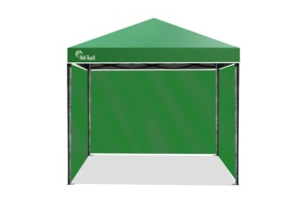 Red Track 3x3m Folding Gazebo Shade Outdoor Pop-Up Green Foldable Marque