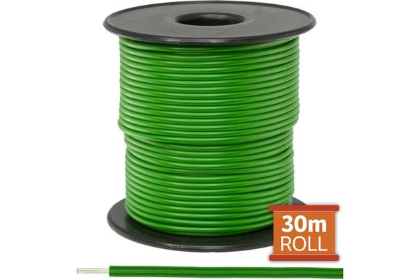 Doss 30M Green Hookup Wire/ Cable