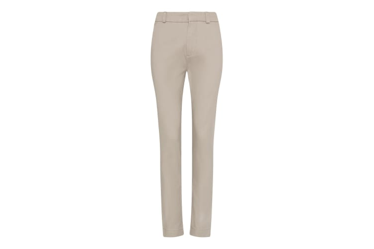 AWDis So Denim Womens/Ladies Lily Slim Chinos (Stone) (16L)