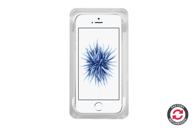 Apple iPhone SE Refurbished (64GB, Silver) - AB Grade
