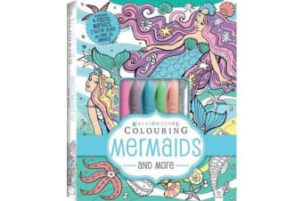 Kaleidoscope Pastel Colouring Kit - Mermaids and More